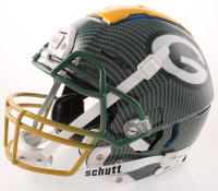 Davante Adams Signed Packers Full-Size Authentic On-Field Hydro Dipped F7 Helmet (JSA COA) at PristineAuction.com