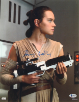 """Daisy Ridley Signed """"Star Wars"""" 11x14 Photo (Beckett COA) at PristineAuction.com"""