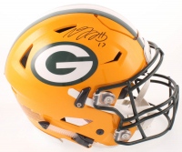 Davante Adams Signed Packers Full-Size Authentic On-Field SpeedFlex Helmet (JSA COA) at PristineAuction.com
