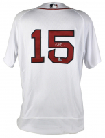 Dustin Pedroia Signed Red Sox Jersey (MLB Hologram & Fanatics Hologram) at PristineAuction.com