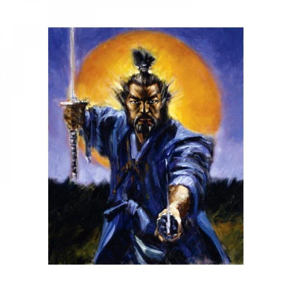 """Fabian Perez Signed """"Samurai Color"""" Hand Textured Limited Edition 16x13 Giclee on Board AP #11/30 at PristineAuction.com"""