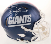 Daniel Jones Signed Giants Full-Size Authentic On-Field Speed Helmet (JSA COA) at PristineAuction.com