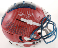 Daniel Jones Signed Giants Full-Size Authentic On-Field Hydro Dipped F7 Helmet (JSA COA) at PristineAuction.com