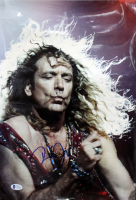 Robert Plant Signed 12x17 Photo (Beckett COA) at PristineAuction.com