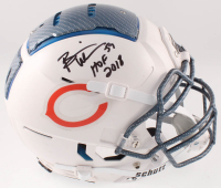 "Brian Urlacher Signed Bears Full-Size Authentic On-Field Hydro Dipped F7 Helmet Inscribed ""HOF 2018"" (Beckett COA) at PristineAuction.com"