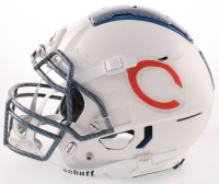 """Brian Urlacher Signed Bears Full-Size Authentic On-Field Hydro Dipped F7 Helmet Inscribed """"HOF 2018"""" (Beckett COA) at PristineAuction.com"""