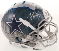 Leighton Vander-Esch Signed Cowboys Full-Size Authentic On-Field Hydro Dipped F7 Helmet (Beckett COA) at PristineAuction.com