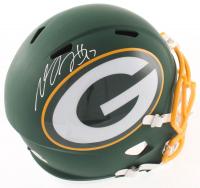 Davante Adams Signed Packers Full-Size AMP Alternate Speed Helmet (Schwartz Sports COA) at PristineAuction.com