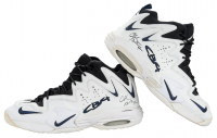 Charles Barkley Signed Pair of Game-Used Nike Basketball Shoes (PSA COA & Mears LOO) at PristineAuction.com