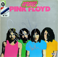 "Roger Waters & Nick Mason Signed Pink Floyd ""Masters of Rock"" Vinyl Record Album Cover (Beckett LOA) at PristineAuction.com"