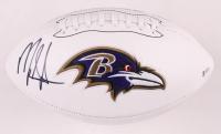 Mark Ingram Jr. Signed Ravens Logo Football (Beckett COA) at PristineAuction.com