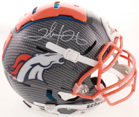 Clinton Portis Signed Broncos Full-Size Authentic On-Field Hydro Dipped F7 Helmet (Beckett COA) at PristineAuction.com