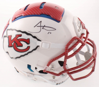 Tyreek Hill Signed Chiefs Full-Size Authentic On-Field Hydro Dipped F7 Helmet (JSA COA) at PristineAuction.com
