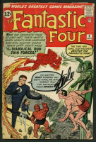 "Stan Lee Signed 1961 ""Fantastic Four"" #6 Marvel Comic Book (PSA LOA) at PristineAuction.com"