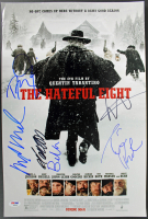 """The Hateful Eight"" 12x18 Photo Cast-Signed by (6) with Samuel L. Jackson, Michael Madsen, Tim Roth (PSA LOA) at PristineAuction.com"