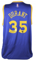 Kevin Durant Signed Warriors Jersey (Fanatics Hologram & Panini Hologram) at PristineAuction.com