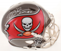 Mike Alstott Signed Buccaneers Full-Size Authentic On-Field Speed Helmet (Beckett COA) at PristineAuction.com