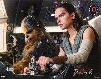 """Daisy Ridley Signed """"Star Wars: The Last Jedi"""" 11x14 Photo (Beckett COA) at PristineAuction.com"""
