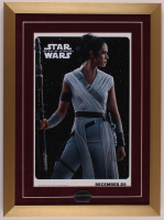 """""""Star Wars: The Rise of Skywalker"""" 17x23 Custom Framed Print Display with Opening Night Only Pin at PristineAuction.com"""
