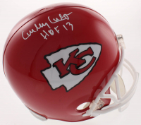 """Curley Culp Signed Chiefs Full-Size Helmet Inscribed """"HOF 13"""" (Beckett COA) at PristineAuction.com"""