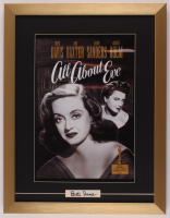 """Bette Davis Signed """"All About Eve"""" 17x22 Custom Framed Print Display (PSA) at PristineAuction.com"""