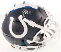 Jacoby Brissett Signed Colts Youth Full-Size Authentic On-Field F7 Helmet (JSA COA) at PristineAuction.com