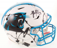 Luke Kuechly Signed Panthers Full-Size Authentic On-Field Hydro-Dipped SpeedFlex Youth Helmet (Beckett COA) at PristineAuction.com