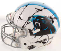 Luke Kuechly Signed Panthers Full-Size Authentic On-Field Hydro Dipped SpeedFlex Helmet (Beckett COA) at PristineAuction.com