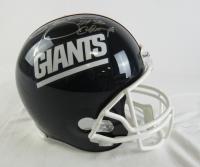 "Lawrence Taylor Signed Giants Full-Size Helmet Inscribed ""2x SB Champs"" (JSA Hologram) at PristineAuction.com"