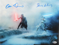 "Adam Driver & Daisy Ridley Signed ""Star Wars: The Rise of Skywalker"" 11x14 Photo (Beckett COA) at PristineAuction.com"