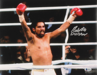 Roberto Duran Signed 11x14 Photo (Beckett COA) at PristineAuction.com