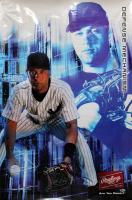 Derek Jeter Signed Yankees 24x36 Poster (Beckett LOA) at PristineAuction.com