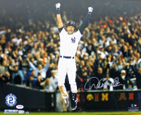 Derek Jeter Signed Yankees 16x20 Photo (PSA LOA, Steiner COA & MLB Hologram) at PristineAuction.com