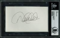 Derek Jeter Signed 3x5 Cut (BGS Encapsulated) at PristineAuction.com