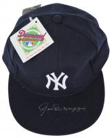 Joe DiMaggio Signed Yankees New Era Fitted Baseball Hat (JSA LOA) at PristineAuction.com