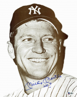 Mickey Mantle Signed 11x14 Photo (Beckett LOA) at PristineAuction.com