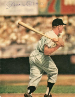 Mickey Mantle Signed Yankees 7x9 Magazine Page (PSA LOA) at PristineAuction.com
