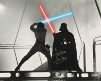 "David Prowse Signed ""Star Wars: The Empire Strikes Back"" 16x20 Photo Inscribed ""Darth Vader"" (Beckett COA) at PristineAuction.com"
