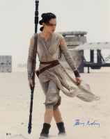 "Daisy Ridley Signed ""Star Wars: The Force Awakens"" 16x20 Photo (Beckett COA) at PristineAuction.com"