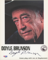 Doyle Brunson Signed 8x10 Photo (PSA COA) at PristineAuction.com