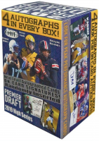 2019 Sage HIT High Draft Picks Football Blaster Box of (80) Cards at PristineAuction.com