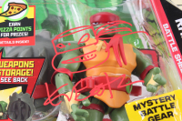 "Lot of (4) Kevin Eastman Signed ""Rise of The Teenage Mutant Ninja Turtles"" Action Figures with Hand-Drawn Sketchs (JSA COA) at PristineAuction.com"