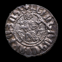 Levon I. AD 1196-1219 - Armenian Kingdom of Cilicia AR Tram Medieval Silver Coin at PristineAuction.com