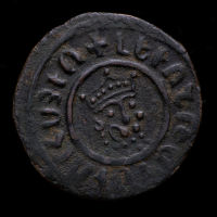 Levon I. AD 1198-1218 - Armenian Kingdom of Cilicia AE Tank Medieval Coin at PristineAuction.com
