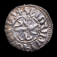Hethum I. AD 1226-1269 - Armenian Kingdom of Cilicia AR Tram Medieval Silver Coin at PristineAuction.com