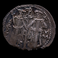 Ivan Alexander. AD 1331-1355 - Bulgaria AR Grosh Medieval Silver Coin at PristineAuction.com