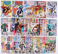 "Lot of (53) 1983 ""Alpha Flight"" 1st Series Marvel Comic Books at PristineAuction.com"