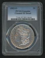 1883-O Morgan Silver Dollar (PCGS Genuine-XF Detail) at PristineAuction.com