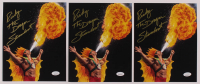 "Lot of (3) Ricky ""The Dragon"" Steamboat Signed WWE 8x10 Photos (JSA COA) at PristineAuction.com"
