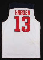 James Harden Signed Team USA Jersey (Beckett COA) at PristineAuction.com